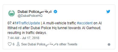Multi-vehicle crash causes traffic chaos in Dubai - Sheen Services
